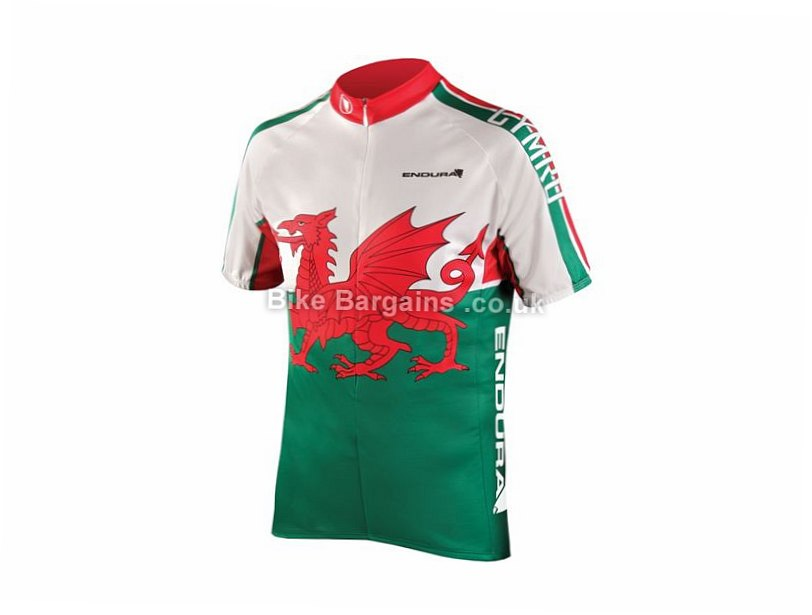 Endura Wales Flag Short Sleeve Jersey was sold for £21! (S fdf7436c4