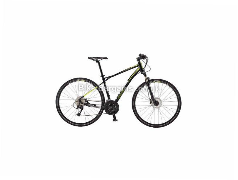 GT Transeo 2.0 Acera Alloy Hybrid City Bike 2017 M, Black