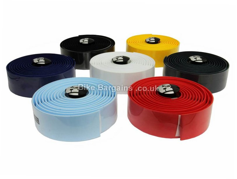 Hoy Gel Bar Tape Yellow, Red, Blue, Turquoise, Grey, White