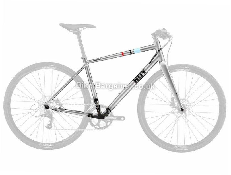 Hoy Shizuoka 004 Alloy Disc Cyclocross Frame 2018 XXS, Silver, Alloy, Disc, 700c