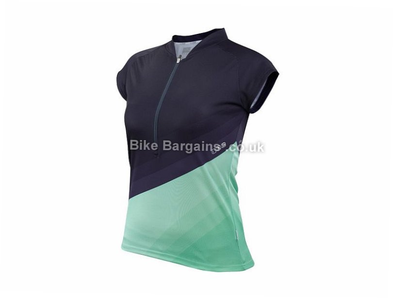 IXS Colura Lady Trail Jersey S, M, L, XL, XXL, Blue, Green, Purple