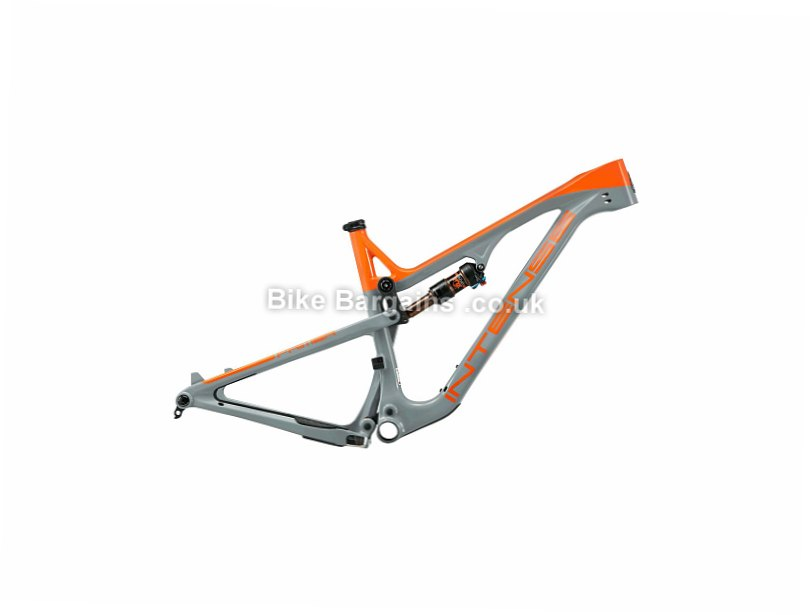 Intense Primer SL 29 Carbon Full Suspension Mountain Bike Frame 2017 Orange, Grey, M, 115-130mm travel