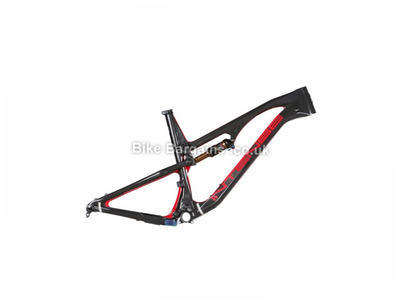 "Intense Spider 275C Enduro 27.5"" Carbon Full Suspension Mountain Bike Frame 2017 M,L,XL, Black, Red, White, 27.5"", Carbon, Full Sus"