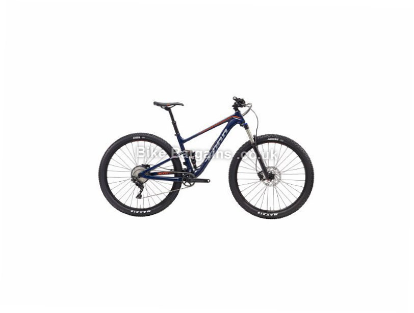 "Kona Hei Hei SLX 29"" Alloy Full Suspension Mountain Bike 2017 M, Blue, 29"""
