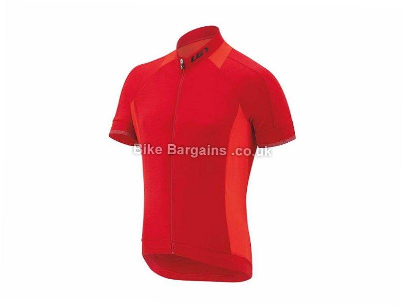 Louis Garneau Lemmon 2 Short Sleeve Jersey S, Black, Blue
