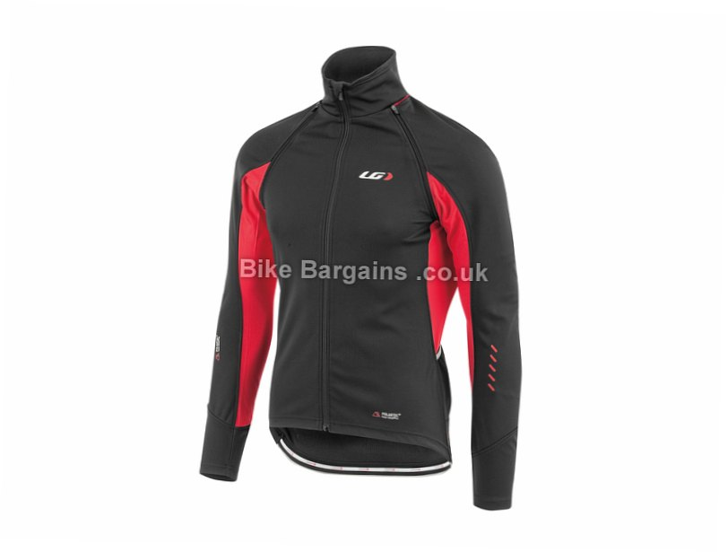 Louis Garneau Spire Convertible Windproof Jacket M,XL, Black, Red, Grey