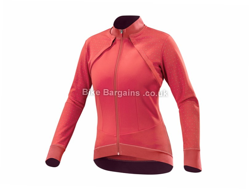 Mavic Sequence Convertible Ladies Jacket L, Red, Women's, Long Sleeve / Sleeveless