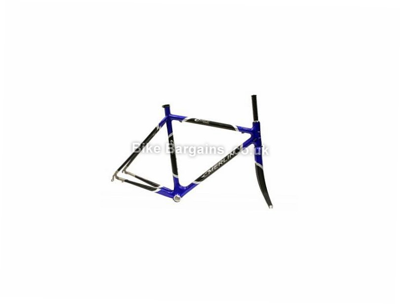 Merlin C110 Works Carbon Road Frame 55cm, 57cm, Blue, Black, Carbon, 700c