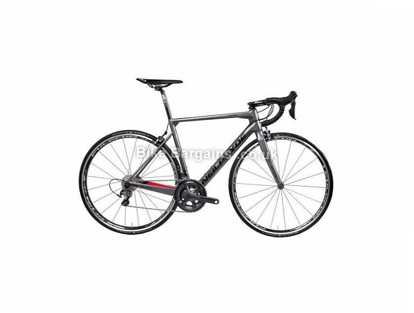 NeilPryde Bura Ultegra Carbon Road Bike 2017 700c, S, Grey, Red, 22 Speed, Carbon