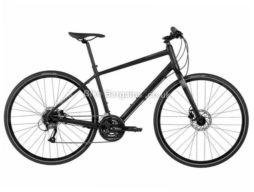 Norco Indie 3 Alloy Altus Hybrid City Bike 2017 XL, Black, Alloy, 700c, 8 speed, Disc, Hardtail