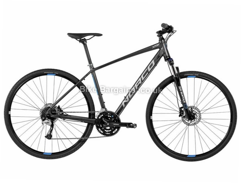 Norco XFR 3 Alloy Acera Hybrid City Bike 2017 M, Grey, Alloy, 700c, 8 speed, Disc, Hardtail