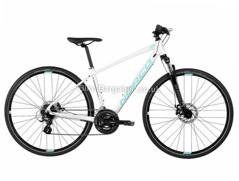 Norco XFR 4 Forma Ladies Alloy Altus Hybrid City Bike 2017 XS, White, 700c, 14.15kg