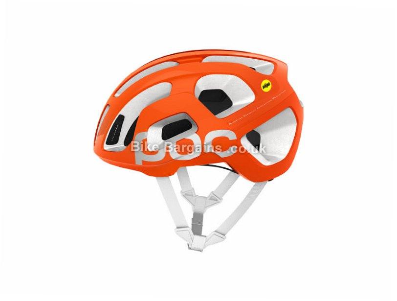 POC Octal AVIP MIPS Road Helmet S, Pink, Orange, White, 210g