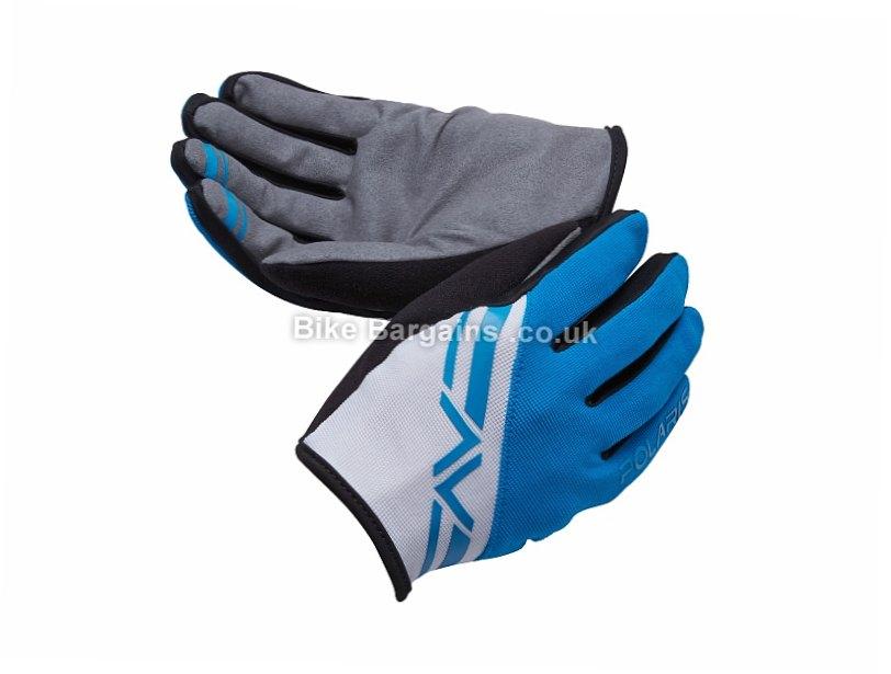 Polaris Adventure Trail MTB Full Finger Gloves 2015 S, Red, Full Finger