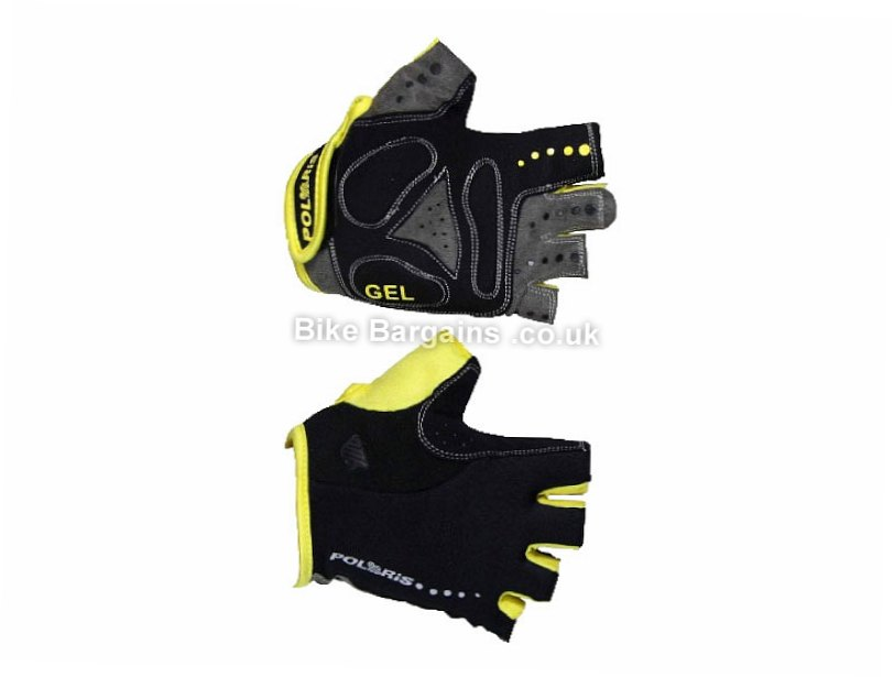 Polaris Blade Road Mitts S,M,L,XL, Black, Blue, Grey, Red, Yellow, Mitts, Gel, Rubber