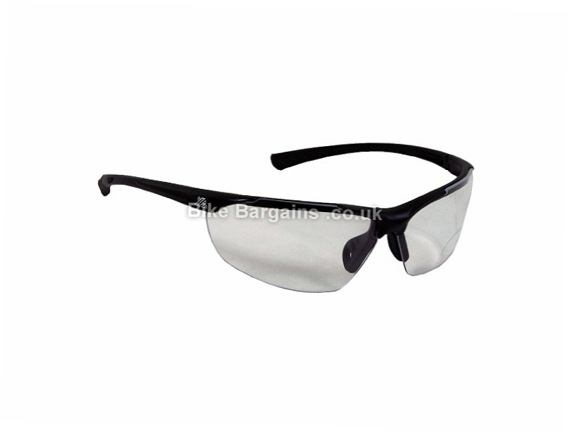 Polaris Clarity Glasses Black, Clear
