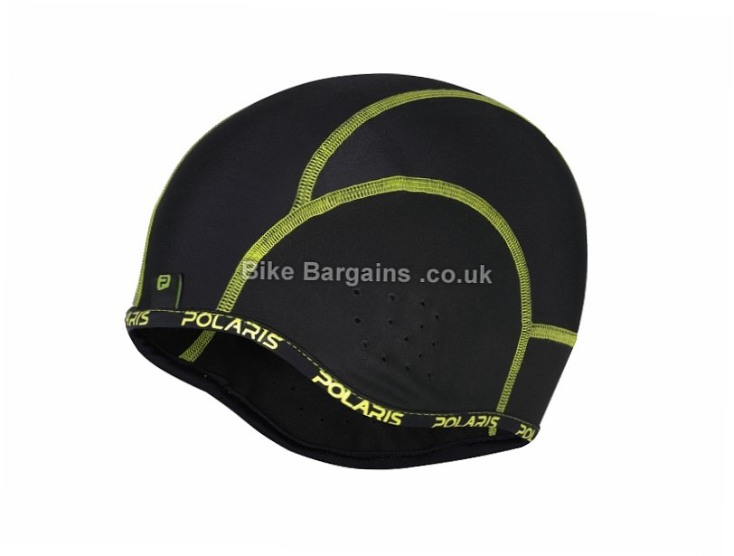 Polaris Cranium Skull Cap Black, Green