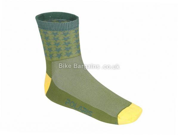 Polaris Infinity Road Socks S,M,L, Brown, Blue, Red