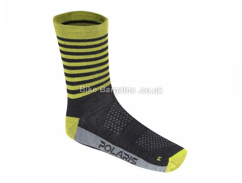 Polaris Limit Merino MTB Socks S,M,L, Orange, Blue, Red, Green