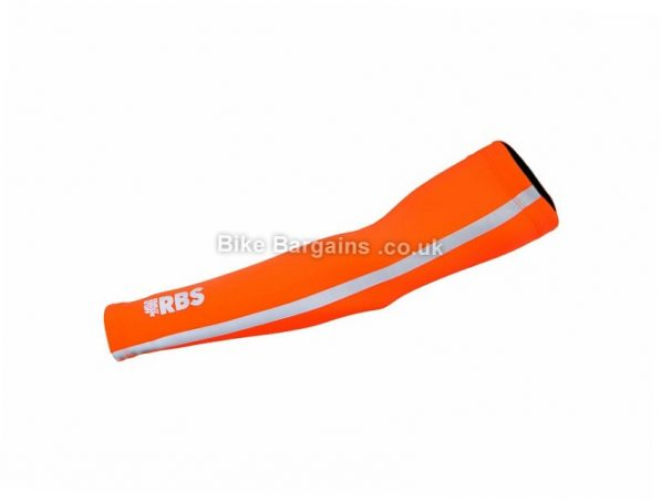 Polaris RBS Commuter Arm Warmers S,M,L,XL, Orange, Yellow