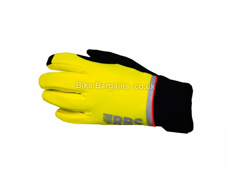 Polaris RBS Tech Winter Full Finger Gloves S,M,L,XL,XXL, Yellow, Full Finger