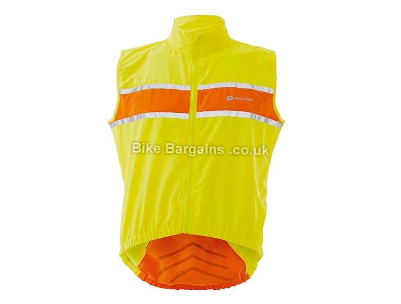 Polaris RBS Windproof Gilet S,M,L,XL,XXL, Yellow, Orange