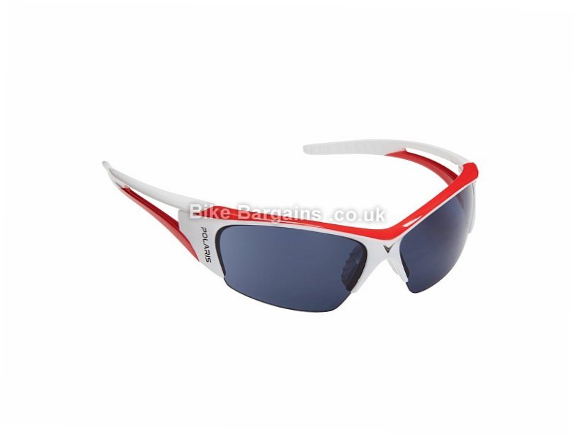 Polaris Viper Road Sunglasses Grey, Black, White, Red