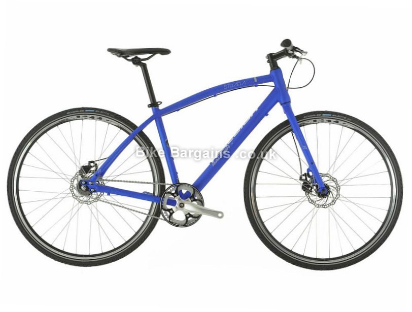 "Raleigh Strada 4 Alloy Hybrid City Bike 2017 16"",  Blue"