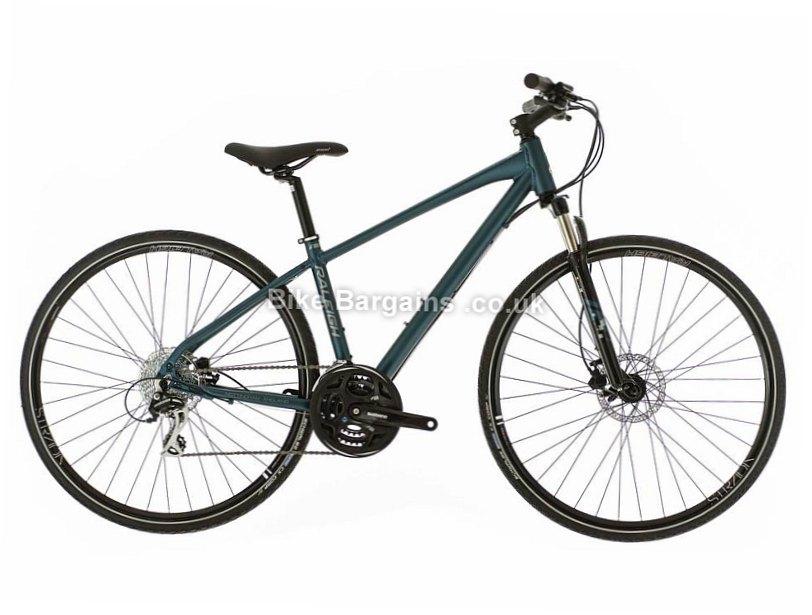 "Raleigh Strada TS 2 Acera Hybrid City Bike 2017 14"", Blue"