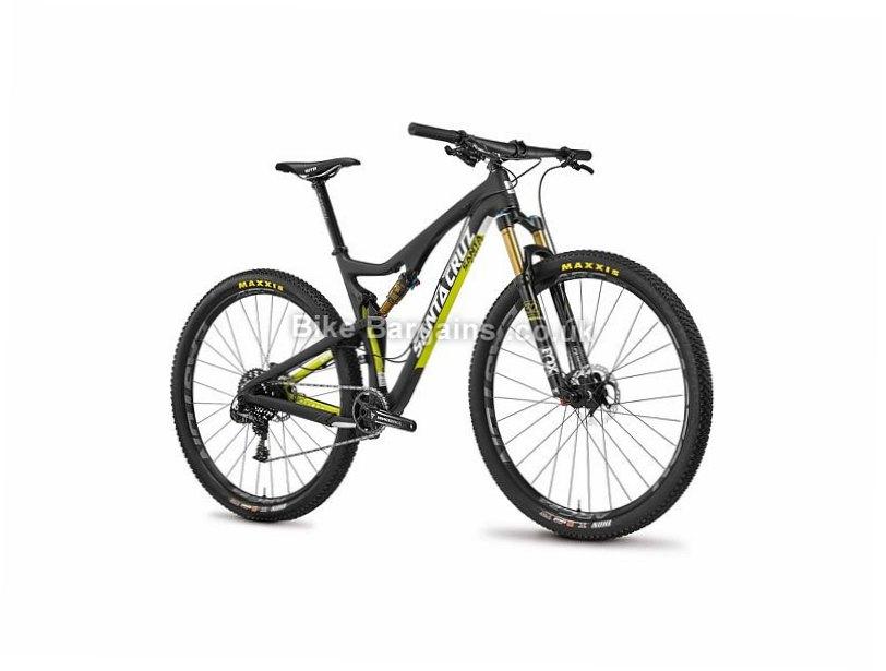 "Santa Cruz Tallboy 2 S XC 29 Carbon Full Suspension Mountain Bike 2016 M, 29"", Yellow, Carbon, 120mm"