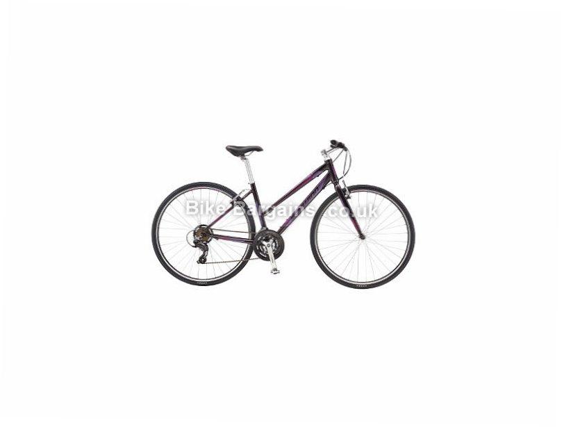 Schwinn Super Sport 3 W Ladies Acera Alloy Hybrid City Bike 2016 L, Purple