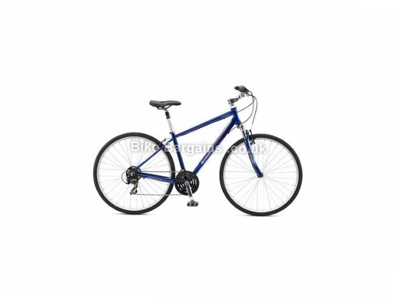 Schwinn Voyageur Tourney Alloy Hybrid City Bike 2016 S, Blue