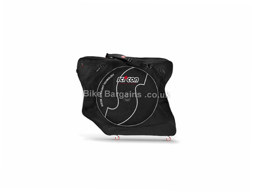 Scicon AeroComfort 2.0 TSA Bike Travel Bag Black, 8.9kg, 118cm by 25cm by 90cm