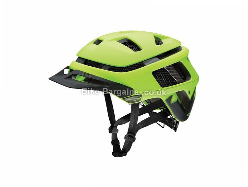 Smith Forefront MTB Helmet 2016 S, Brown, Red, 310g, 21 vents