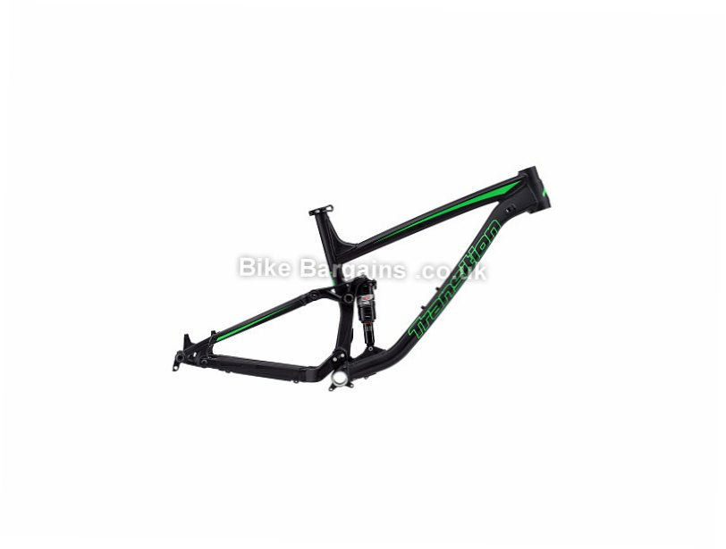 Transition Scout 27.5 Alloy Full Suspension Mountain Bike Frame 2015 Black, Blue, S, 3.3kg
