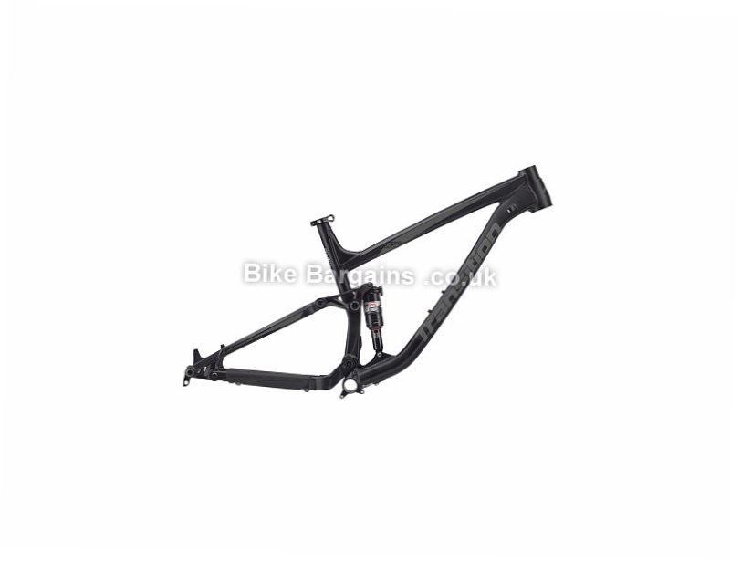 Transition Scout 27.5 Alloy Full Suspension Mountain Bike Frame 2017 Black, Red, M, 3.31kg