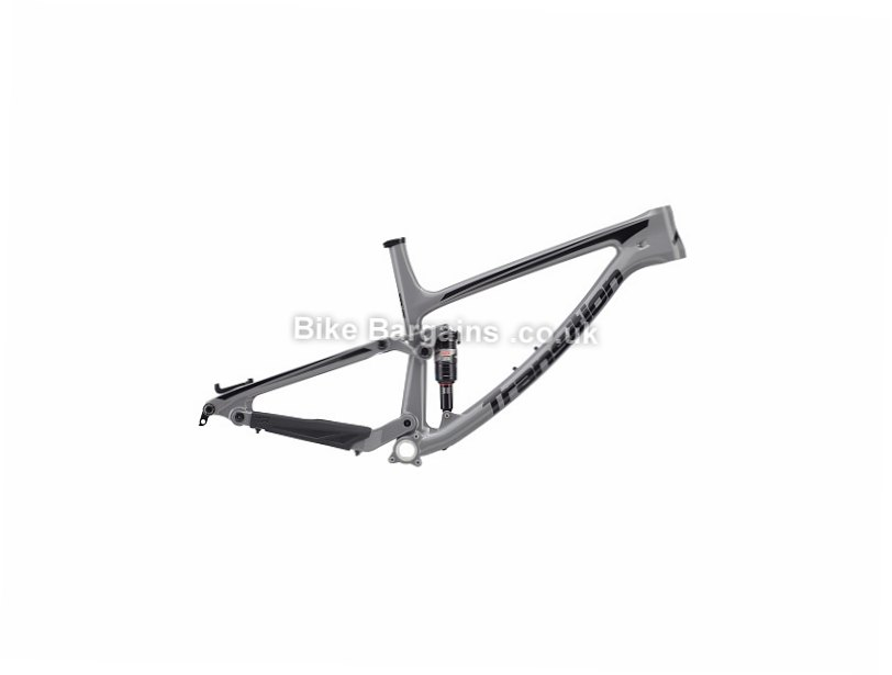 Transition Scout 27.5 Carbon Full Suspension Mountain Bike Frame 2017 Grey, Orange, S,M,L,XL, 2.81kg