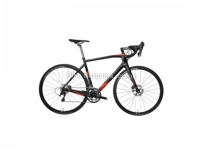Wilier GTR SL Endurance Ultegra Disc Carbon Road Bike 2017 700c, M, XL, Black, Red, 22 Speed, Carbon