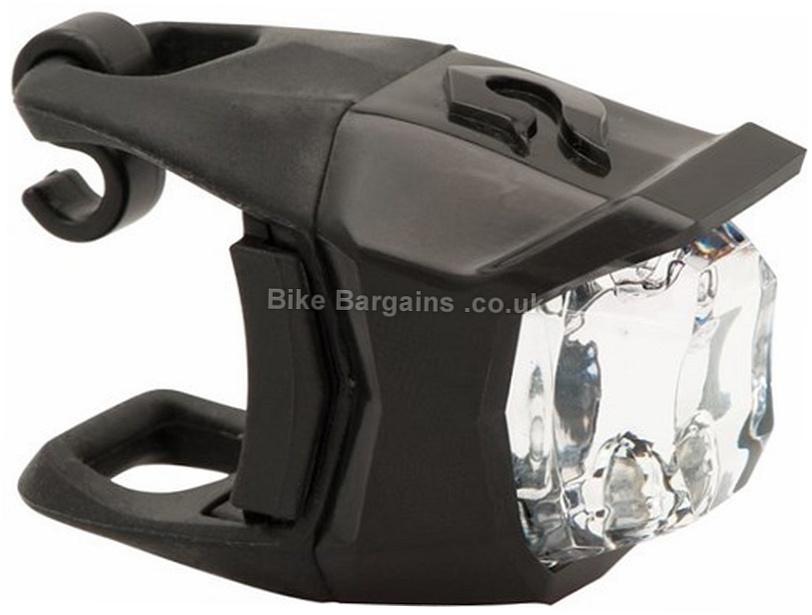 Blackburn Voyager 2 LED Click Front Light Black, CR2032 Batteries