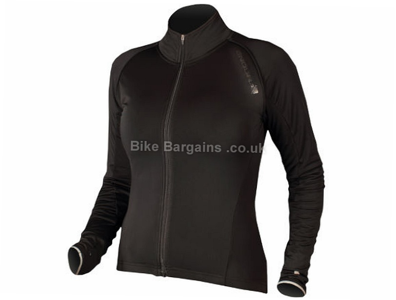 Endura Roubaix Ladies Jacket XL - L is extra, Pink, Black, Women's, Long Sleeve