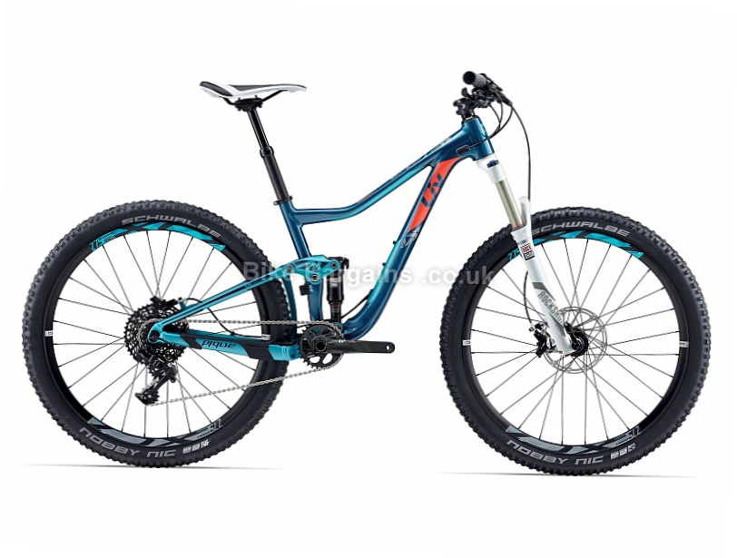 Giant Liv Pique Sx Ladies 27 5 Quot Alloy Suspension Mtb 2017 Was Sold For 163 1559 Xs