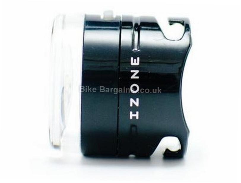Izone Pulse Front Bike Light 0.5 Watts, Black, 30 Hours runtime