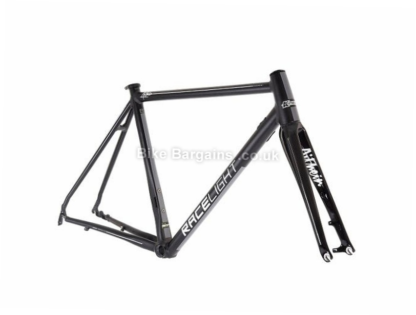 Kinesis Racelight Aithein Alloy Disc Road Frame 2017 47cm, Black, Blue, Alloy, Disc, 700c