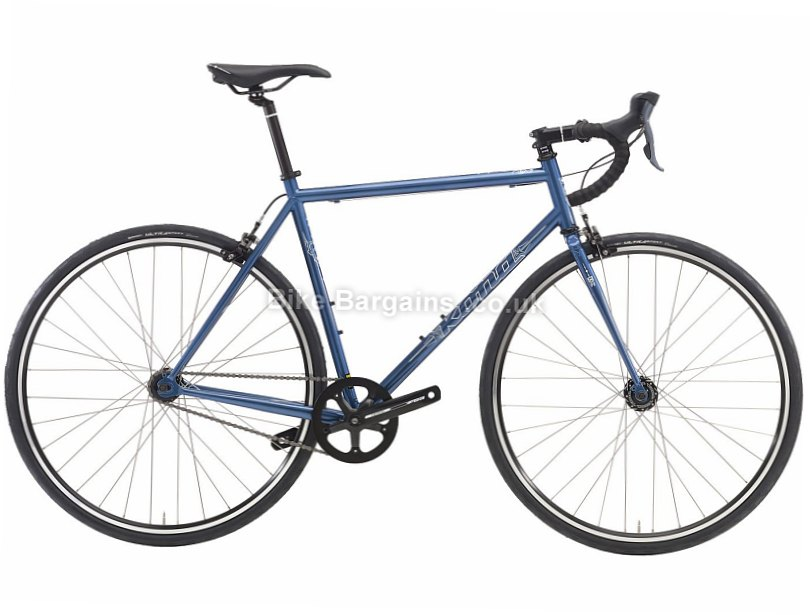 Kona Paddy Wagon Steel Singlespeed Road Bike 2016 49cm, Blue, Steel, Single Speed, Calipers, 700c