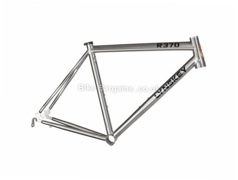 Lynskey R370 Titanium Caliper Road Frame 2017 52cm, Silver, Titanium, Caliper Brakes, 700c