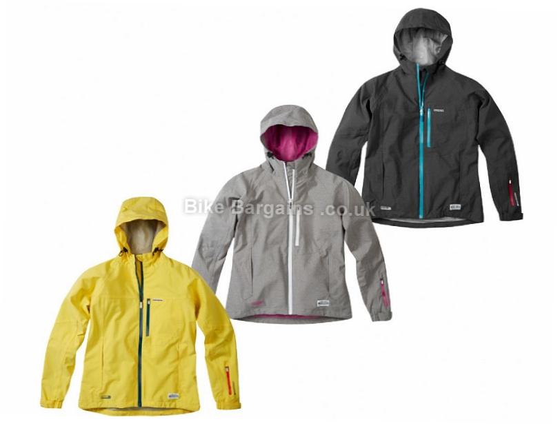 Madison Leia Ladies Jacket 2017 14, Yellow, Women's, Long Sleeve