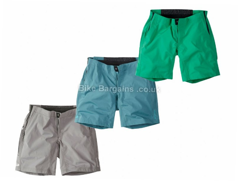 green ladies shorts