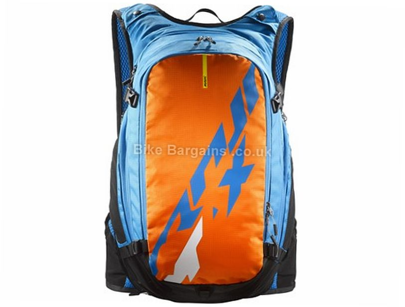 Mavic Crossmax Hydropack 25 Litre Hydration Backpack Blue, Orange, 25 Litres