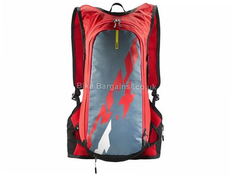 Mavic Crossmax Hydropack 8.5 Litre Hydration Backpack Blue, Orange, Red, 8.5 Litres