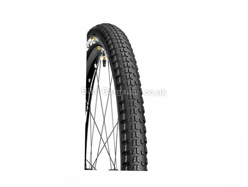 "Mavic Crossride Pulse Tubeless Folding MTB Tyre 27.5"", 29"", 2.1"", Black, Folding"